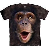 The Mountain tshirt - bluse med chimpansemotiv