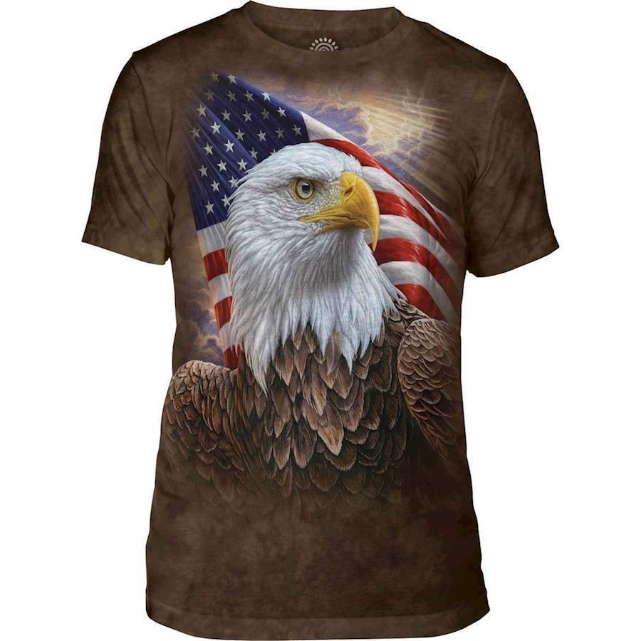 The Mountain Independence Eagle Triblend Tee