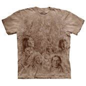 T-shirt med indianermotiv - bluse fra The Mountain
