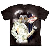Meowvis Pawsley t-shirt