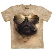 T-shirt fra The Mountain - bluse med moppe