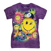 The Mountain ladies-t-shirt med smiley-motiv