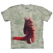 Red Panda Forest t-shirt