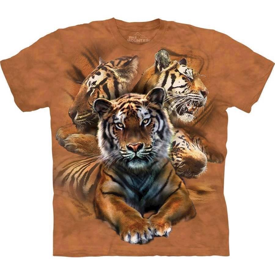 The Mountain tshirt - bluse med tigermotiv