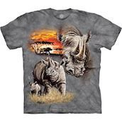 The Mountain tshirt - kortaermet bluse med naesehorn