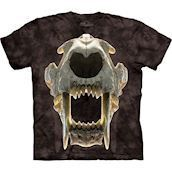 The Mountain tshirt med sabeltandtiger fossil