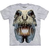 The Mountain tshirt med Tyranusaurus Rex fossil
