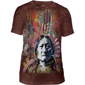 The Mountain Sitting Bull Triblend Tee