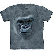 The Mountain tshirt - bluse med gorillamotiv