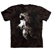 T-shirt fra The Mountain - bluse med astronaut