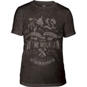 The Mountain Take Me Triblend Tee