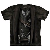 T-shirt med Sheriff-illusion fra The Mountain