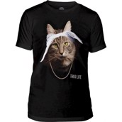 The Mountain Tupaw Cat Triblend Tee