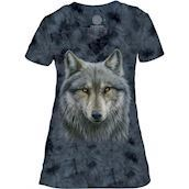 The Mountain Warrior Wolf Meets Tri-Blend T-shirts