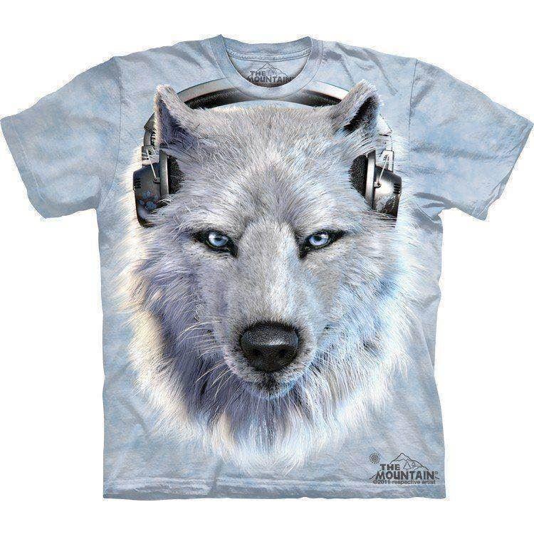 White Wolf DJ t shirt