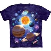T-shirt fra The Mountain - bluse med planet-motiv